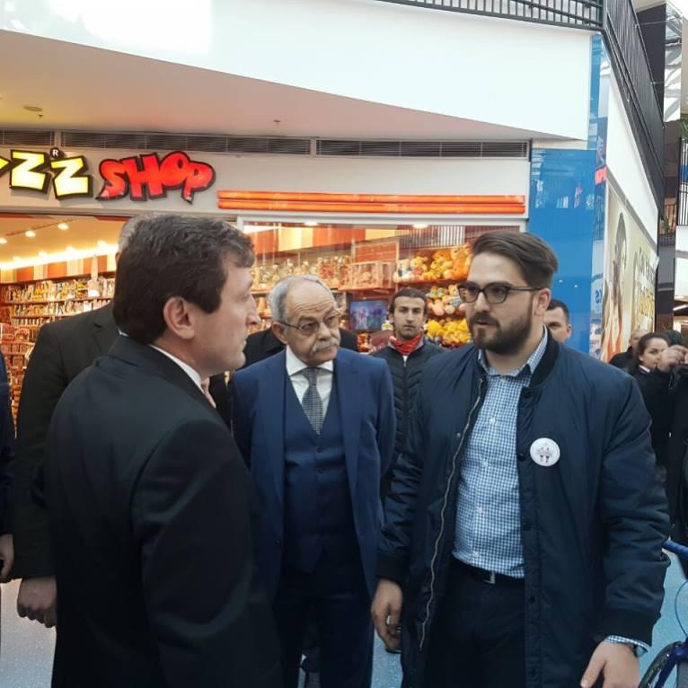 Çanakkale Valisi Orhan TAVLI Standımızı Ziyaret Etti