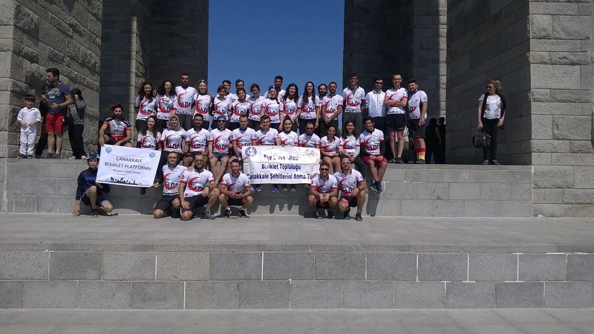 Ege Üniversitesi Bisiklet Topluluğu (EBİT) ile Abide Turu