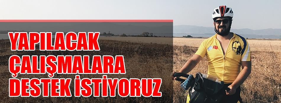 """""""Çanakkale'nin bisiklet şehri olma potansiyeli büyük"""" RÖPORTAJ"""