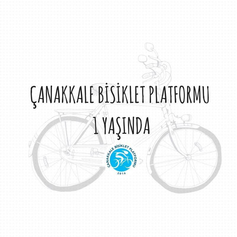 Çanakkale Bisiklet Platformu 1. Yıl Kutlama