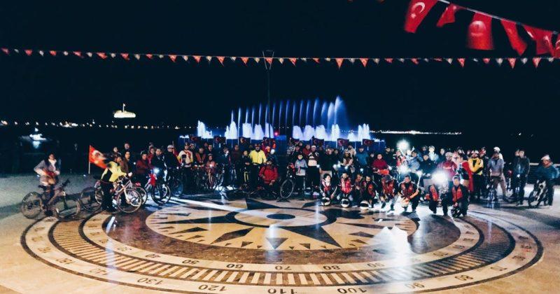 29 Ekim Cumhuriyet Bayramı Bisiklet Turu Gerçekleşti