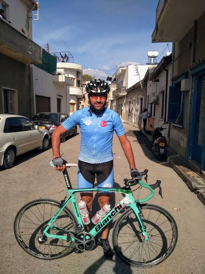 Çanakkale Bisiklet Platformu Forması Kıbrıs'ta