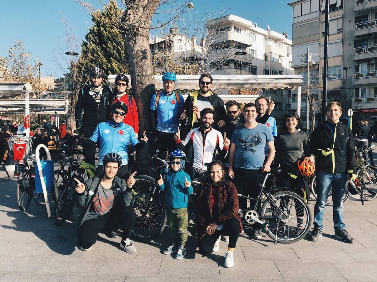 3 Aralık Dünya Engelliler Günü Bisiklet Korteji