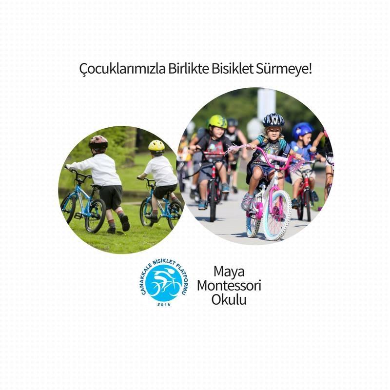 Çocuklarla Bisiklet Sürüyoruz!