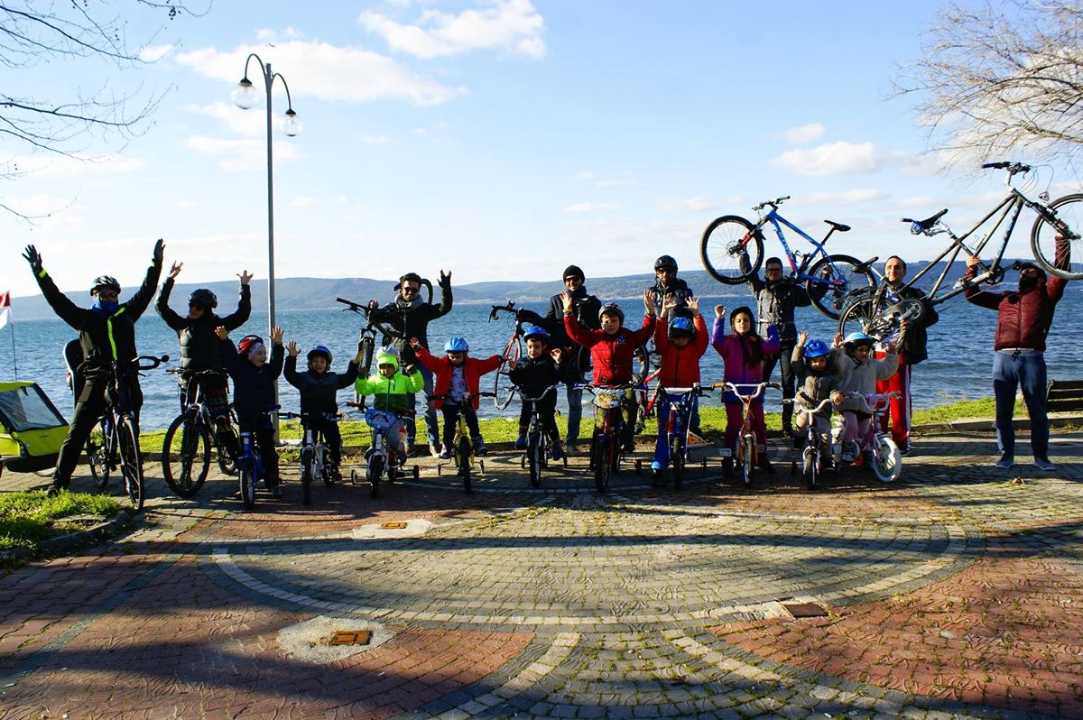 Çocuklarla Bisiklet Sürüyoruz Etkinliği Gerçekleştirildi