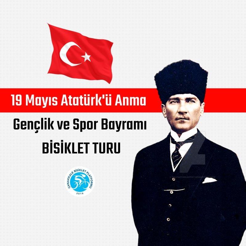 19 Mayıs Atatürk'ü Anma, Gençlik ve Spor Bayramı Bisiklet Turu