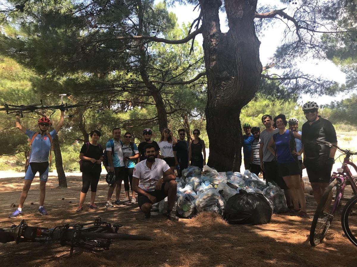 Atikhisar, Atık-Hisar Olmasın Etkinliği Kapsamında Çevre Temizliği Gerçekleştirildi