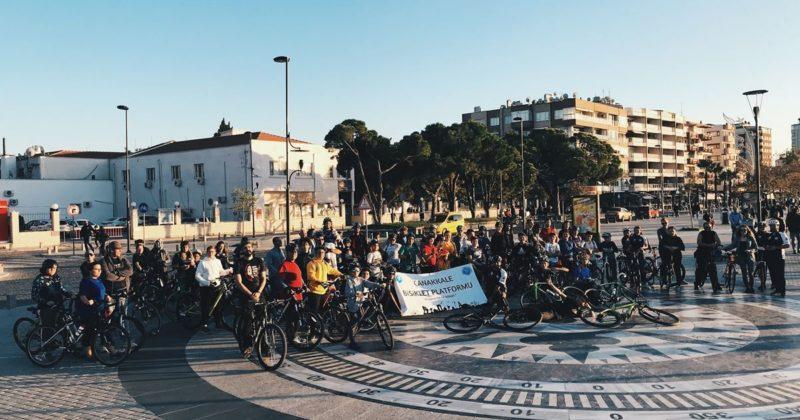 Arkadaşıma Dokunma Bisiklet Turu Gerçekleşti