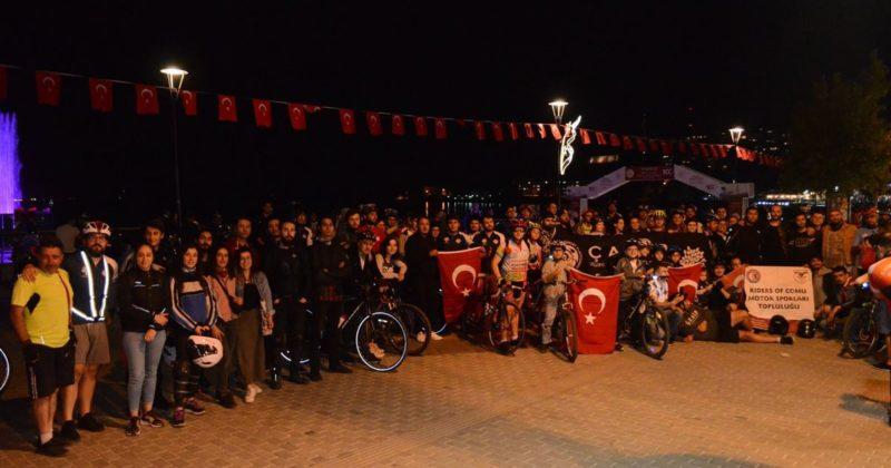 19 Mayıs Atatürk'ü Anma Gençlik ve Spor Bayramı Bisiklet Turu