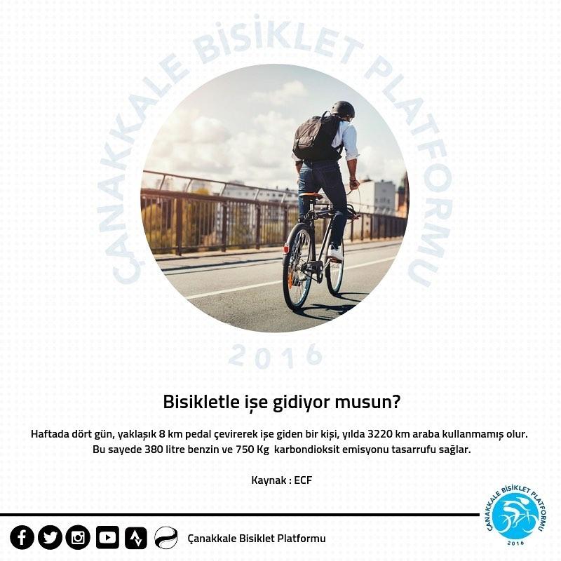 Bisiklet ile işe gidiyor musun? Yoksa toplu taşımayı mı kullanıyorsun?