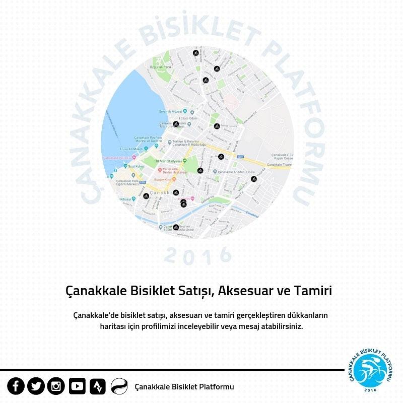 Çanakkale'de Bisiklet Satışı, Aksesuar ve Tamir