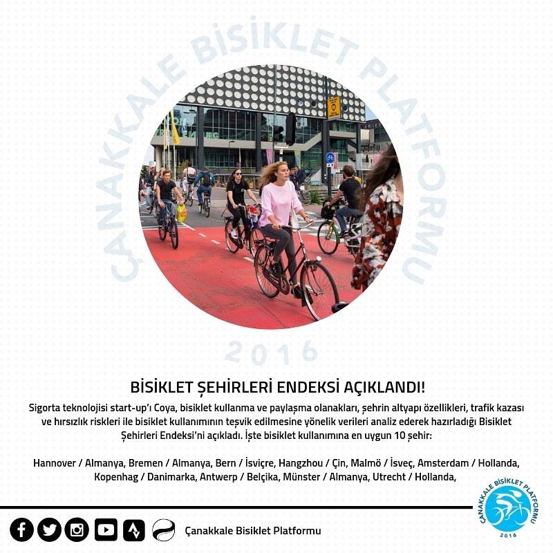 İşte Bisiklet Kullanımına En Uygun 10 Şehir