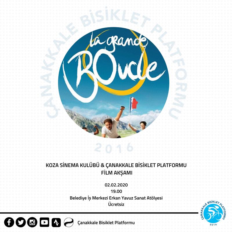 Koza Sinema Kulübü & Çanakkale Bisiklet Platformu Film Akşamı