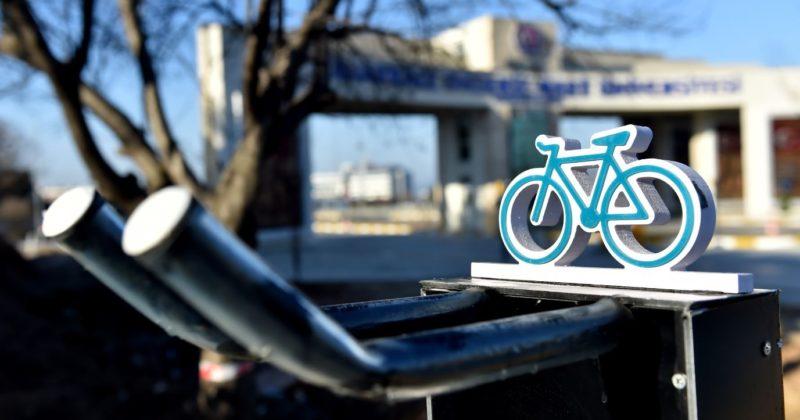 Terzioğlu Yerleşkesinde Yeni Bisiklet Park Alanı Oluşturuldu