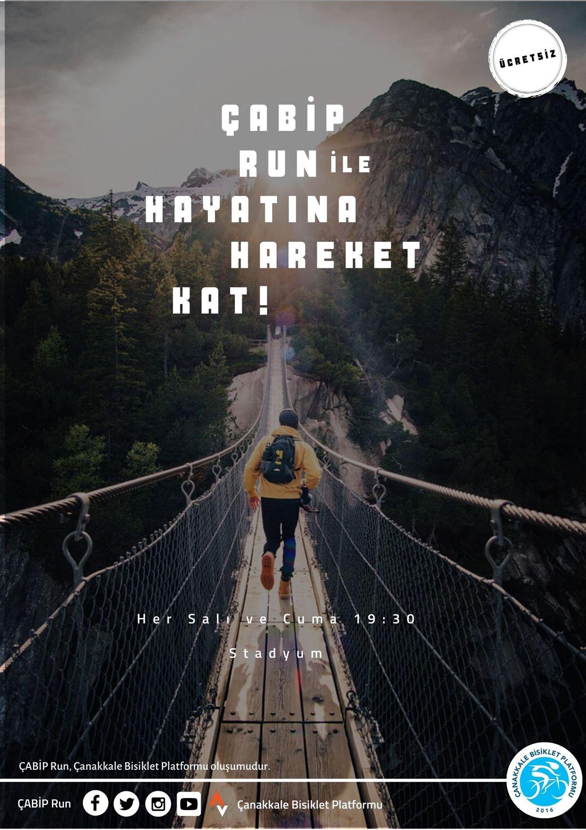 ÇABİP Run İle Hayatına Hareket Kat!
