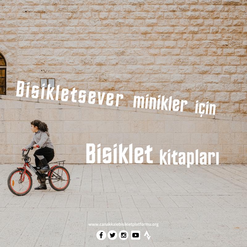 Bisikletsever Minikler için Bisiklet Kitapları