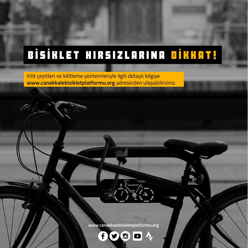 Bisiklet Kilitleme Önerileri