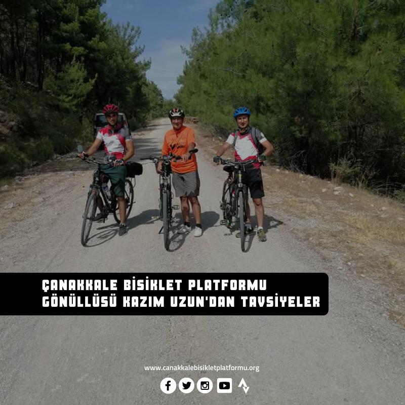 ÇABİP Gönüllüsü Kazım Uzun'dan Bisikletçilere Tavsiyeler