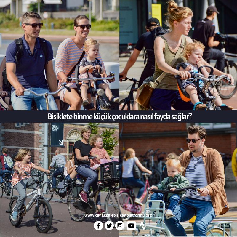 Bisiklete Binme Küçük Çocuklara Nasıl Fayda Sağlar?