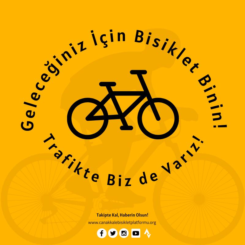 Geleceğiniz için Bisiklet Binin, Trafikte Bizde Varız! – Kampanyası