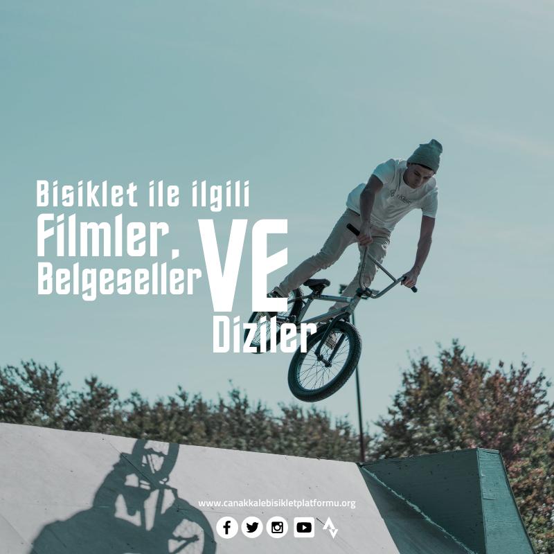 Bisiklet ile ilgili Filmler, Belgeseller ve Diziler